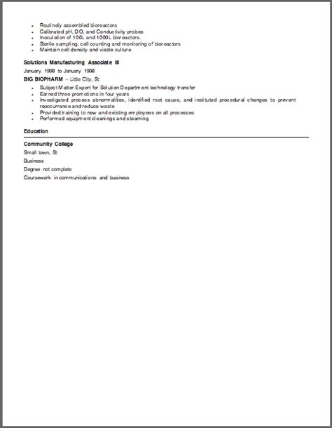 biotech resume writer stonewall services