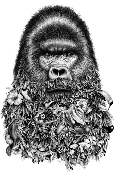 mysterious animals drawings fubiz media