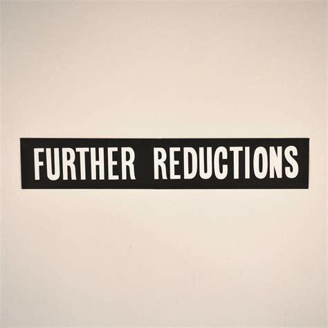 Further Reductions Gondola Banner Black (1010mm x 180mm ...