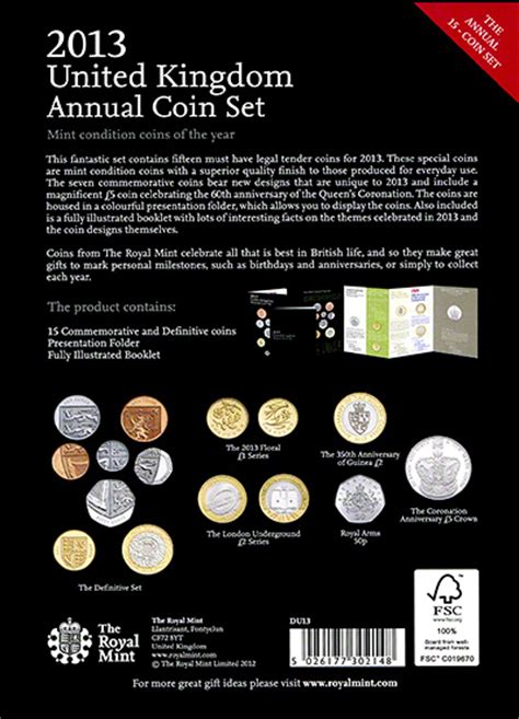 2013 british coin sets