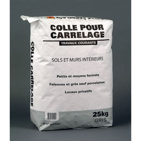 leroy merlin colle carrelage mortier colle pour carrelage sol 25 kg gris leroy merlin
