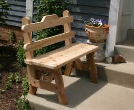 Amish Made Adirondack Chairs by Cedar Bench Rustic Bench Cedar Benches Outdoor Bench