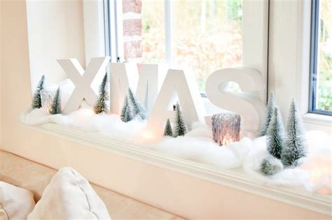 Weihnachtsdeko Fenster Watte by Die Besten 25 Weihnachtsdeko Fensterbank Ideen Auf