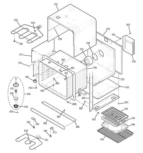 ge model jtbhbb built  oven electric genuine parts
