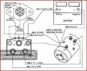 winch contactor wiring land rover zone With t max winch wiring diagram