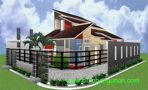 desain rumah bpk saffy konsep rumah minimalis tropis