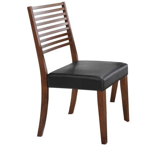 ladder back seat dining chairs denmark ladder back side chair with upholstered seat 9668