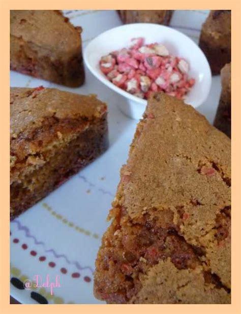 cake aux pralines roses facile et pas cher recette sur