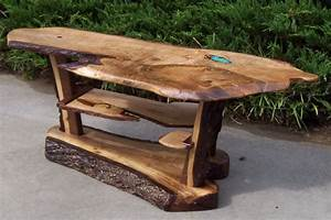 a buyer brought a piece of wood to marty that he wished to With piece of wood coffee table