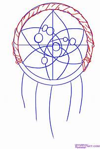 How to Draw a Dreamcatcher, Step by Step, Symbols, Pop ...