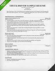 truck driver cover letter resume genius
