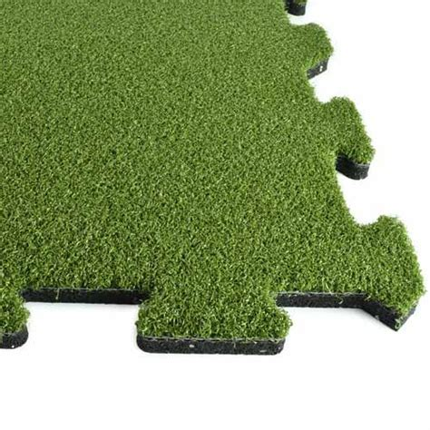 Artifical Grass Athletic Turf Tile   Sports Athletic Turf Tile