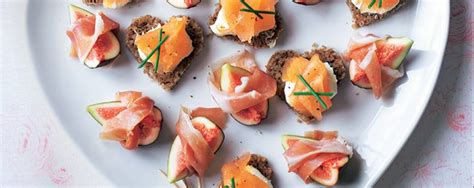 okay canapé smoked salmon canapés asda living