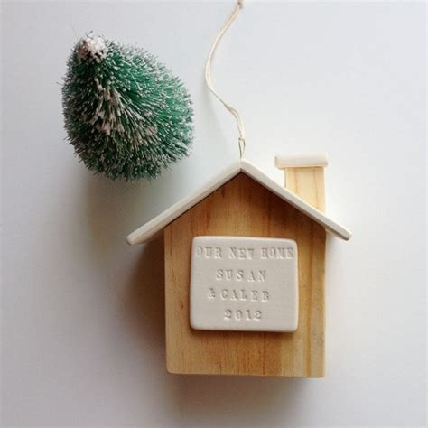 personalized house ornament new home house warming our first