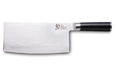 couteau cuisine damas shun dm 0712 couteau de cuisine quot type chinois quot damas