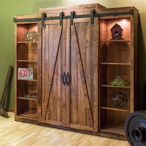 solid wood entertainment center with fireplace wall units rustic wall units rustic