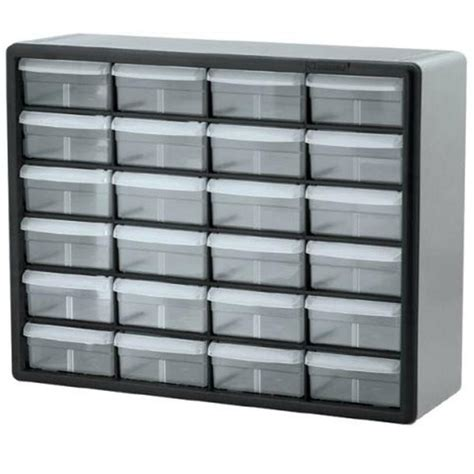 Plastic Drawers by 10124 Plastic Storage Cabinet 24 Drawer Parts Bin Akromils