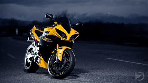 Yellow Bike Background #wallpaper