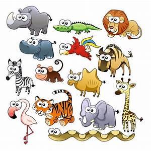 Stickers Animaux De La Jungle : sticker planche animaux de la jungle d co chambre enfant etiquette autocollant ~ Mglfilm.com Idées de Décoration