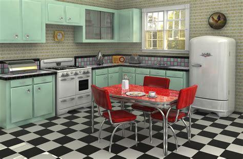 cuisine style retro astuces pour aménager une cuisine vintage travaux com