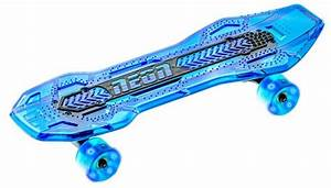 Neon Cruzer Skateboard Blue Skate the streets with LED