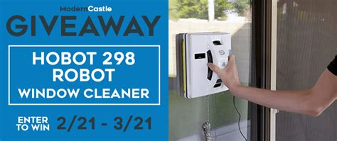 hobot  window cleaning robot giveaway modern castle