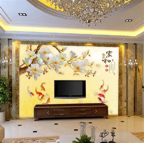 mural tv background wall paper  wallpaper modern