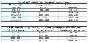 Dimensions Standard Fenetre : porte fenetre pvc dimensions standard escapade champenoise ~ Melissatoandfro.com Idées de Décoration