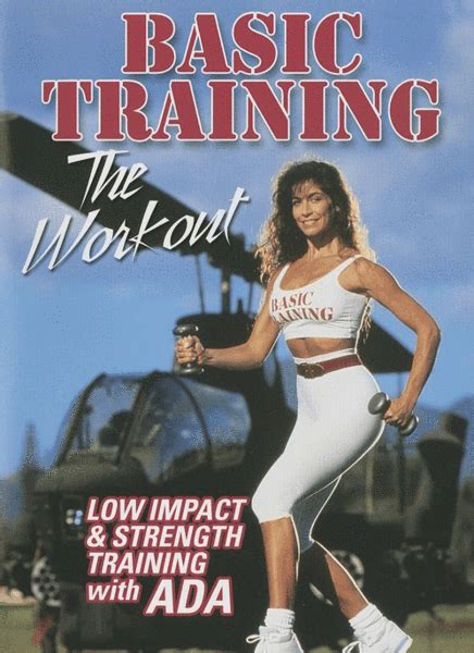 ada training basic janklowicz gilad workout strength low impact fitness espn 1991 dvd tv biography instructor movie