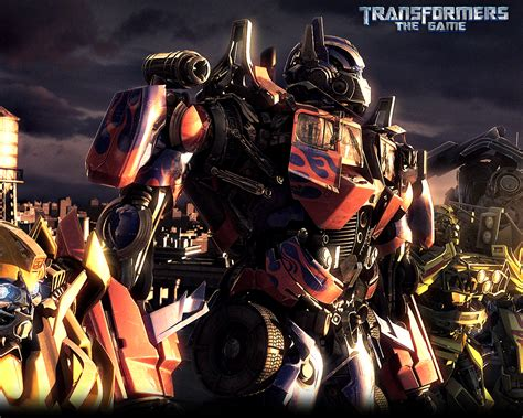 Optimus Prime Free Transformers The Game Wallpaper
