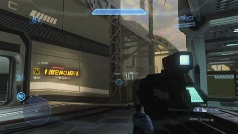 Halo 4 Majestic Landfall Map Walk Through Youtube