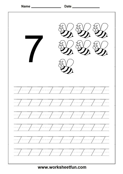 number tracing worksheet  homeschooling number