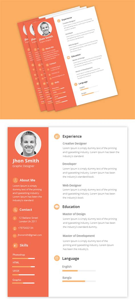 Clean Resume Psd by Free Psd Files Psd Mockup Templates Freebies Graphic
