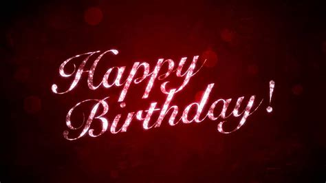 Happy Birthday Backgrounds by Happy Birthday On Hd Motion Graphics Background Loop