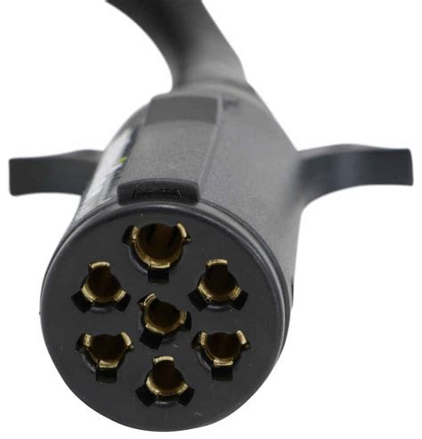 Pollak Trailer Connector Adapter Vehicle End Pole