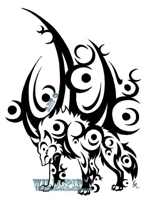 ice moon wolf tattoo  wildspiritwolf  deviantart