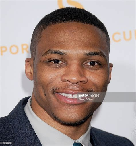 Nba Basketball Player Russell Westbrook Arrives At The