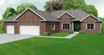 split house plans split bedroom ranch hosue plan house house plans 70014