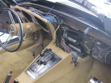 of dash console wiring harness corvetteforum