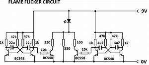 flame flicker circuit With 2 way switch flickering