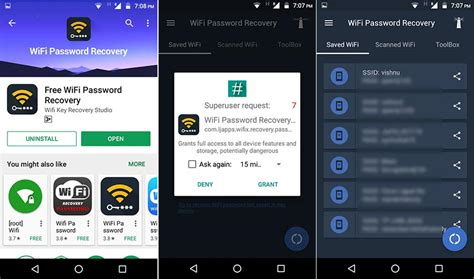wifi password android find wifi password of connected network on windows mac