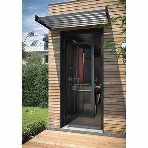 brise soleil pour fenetre et porte l140 x p75 x h20 cm With porte d entrée alu avec salle de bain 140 cm