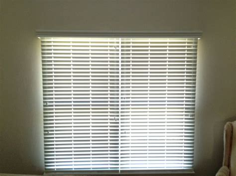 faux wood blinds double window individual blinds
