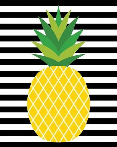 Pineapple Printable Printables Tags Gift Apple Decor