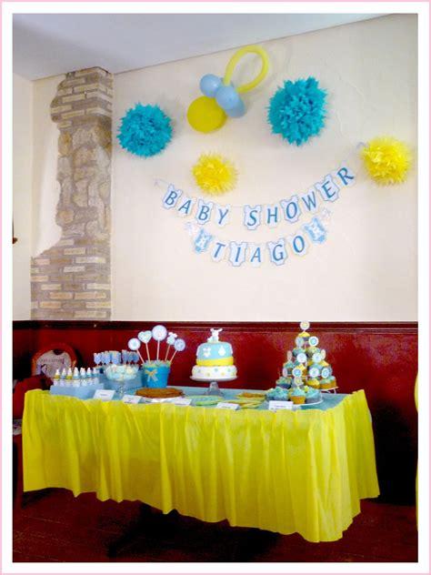 Baby Nina Fiestas: Baby Shower para nuestro pequeño Tiago