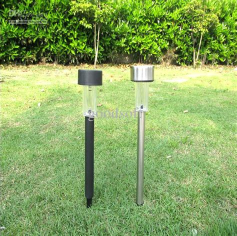 discount outdoor solar stainless steel led landscape