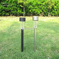 Outdoor Solar Stainless Steel Led Landscape Garden Path