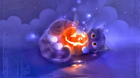Cute Cat Halloween Wallpapers  Festival Collections