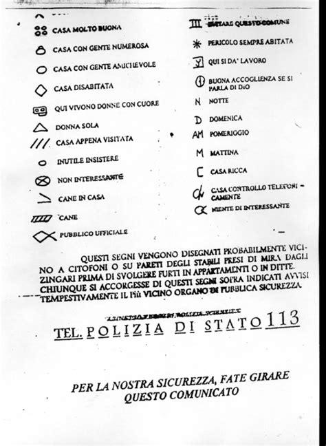 Zerbino Significato by I Segnali Dei Ladri