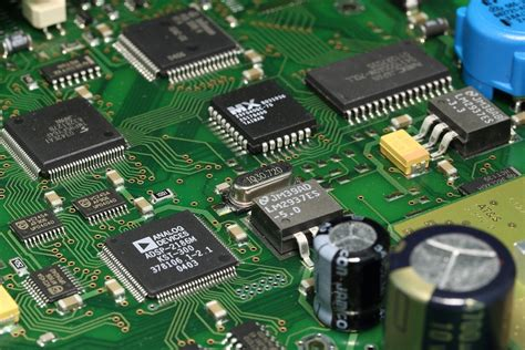 Free Photo Printed Circuit Pcb Integrated Board Max Pixel